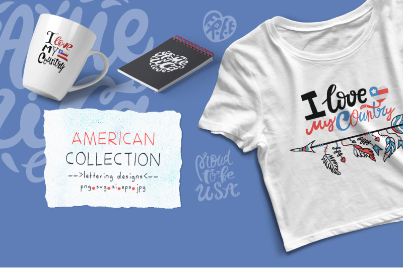 american-collection-lettering