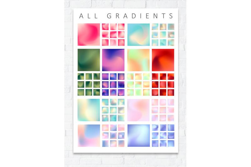 set-of-100-mesh-gradients