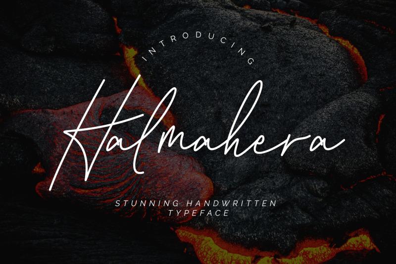 halmahera-handwritten-script