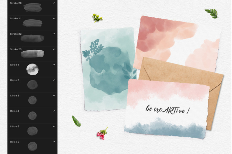 244-watercolor-brushes-for-procreate