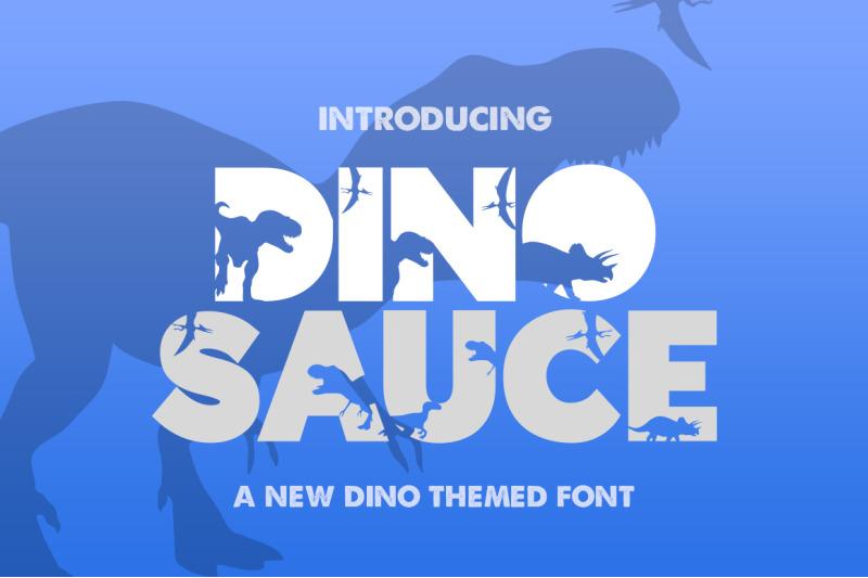 dinosauce-font