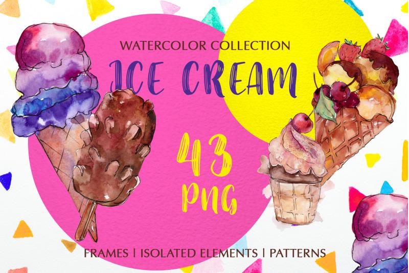 ice-cream-quot-dear-quot-watercolor-png