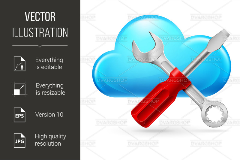 single-cumulus-cloud-and-tools