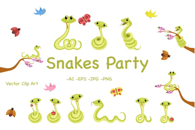 snakes-party