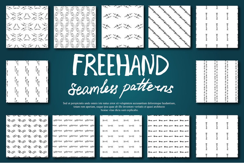boho-seamless-pattern-set