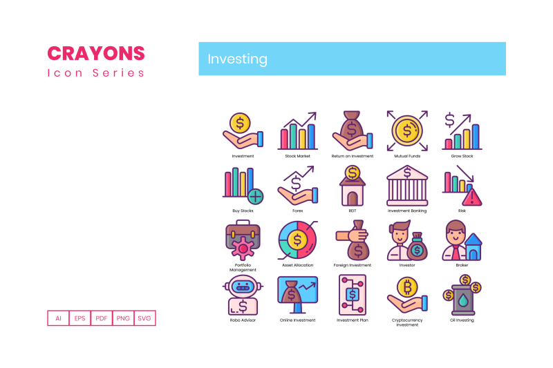 55-investing-icons