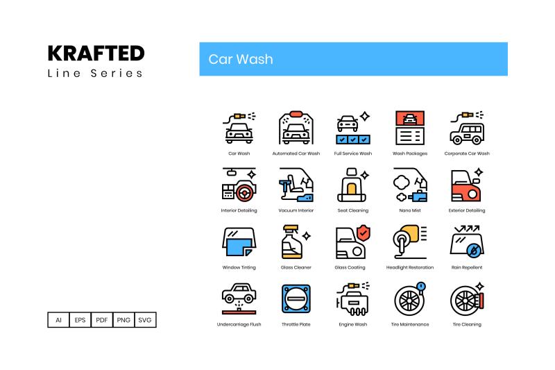 50-car-wash-icons