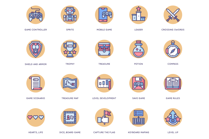 65-game-design-icons