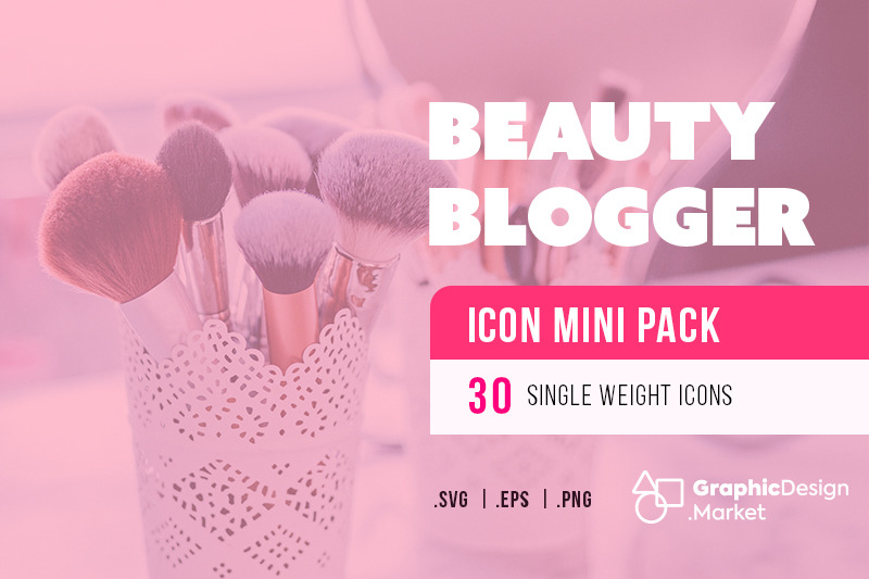 beauty-blogger-30-icon-mini-pak-by-gdm