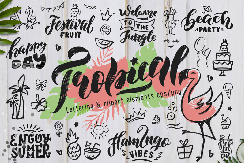 hand-drawn-tropical-style-collection
