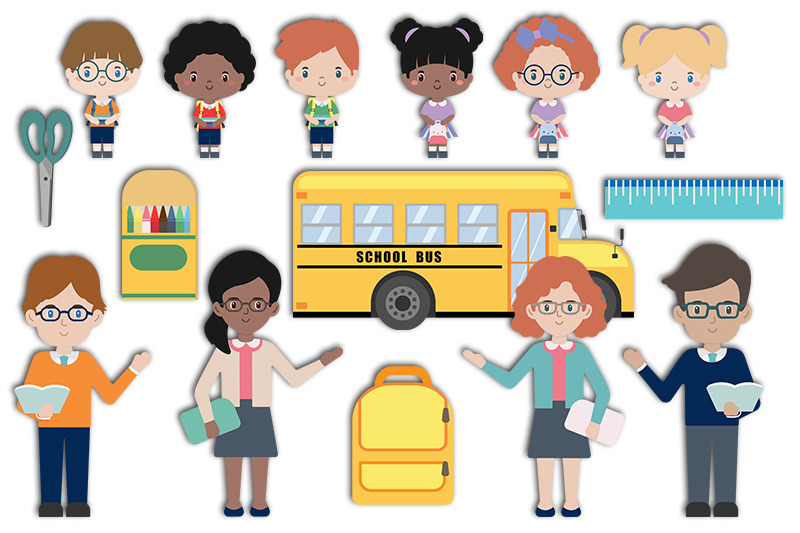 back-to-school-students-teachers-and-classroom-supplies-collection
