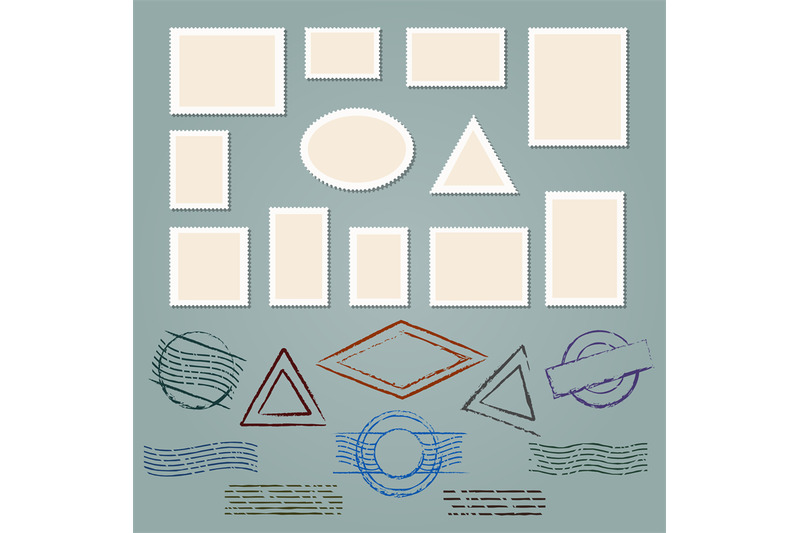 retro-postage-stamp-frames