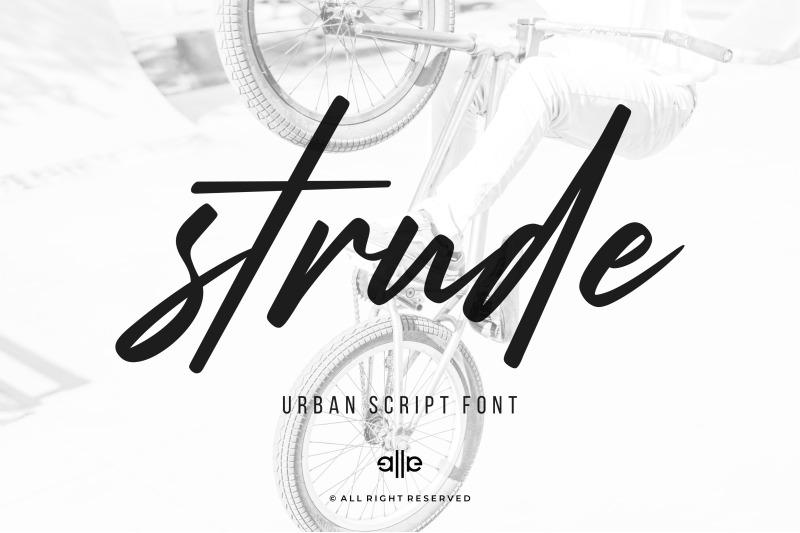 strude-font