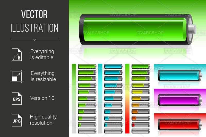 set-of-battery