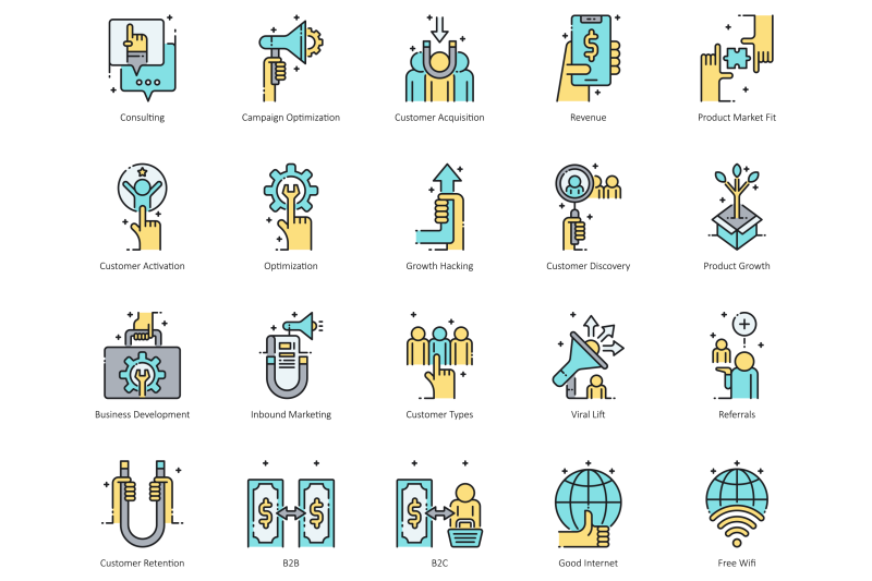 85-digital-nomad-icons