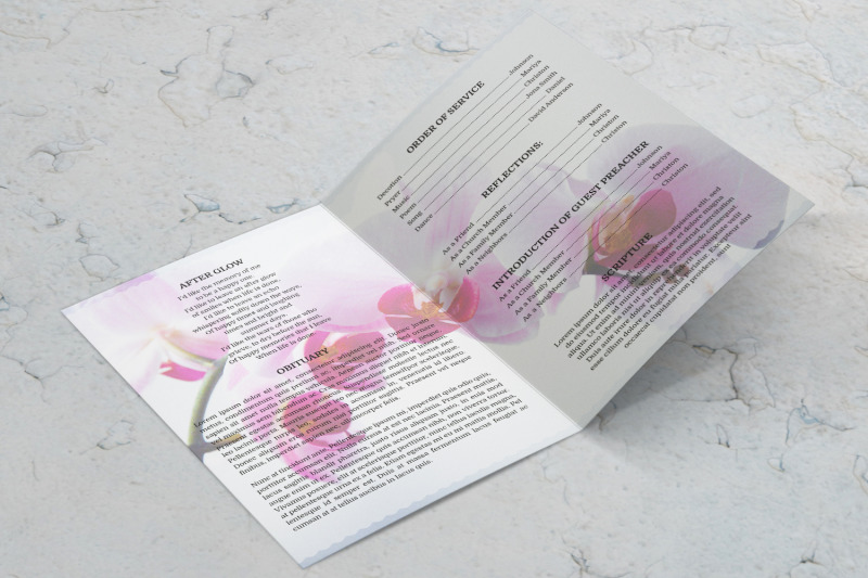 pink-flower-funeral-program-template