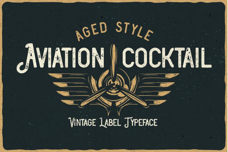 aviation-cocktail-font-bonus