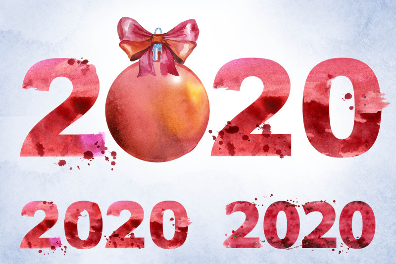 new-year-2020-watercolor