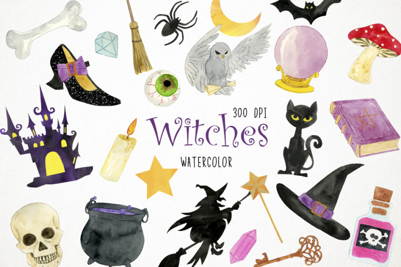 watercolor-witch-clipart-witch-illustration-witch-clip-art