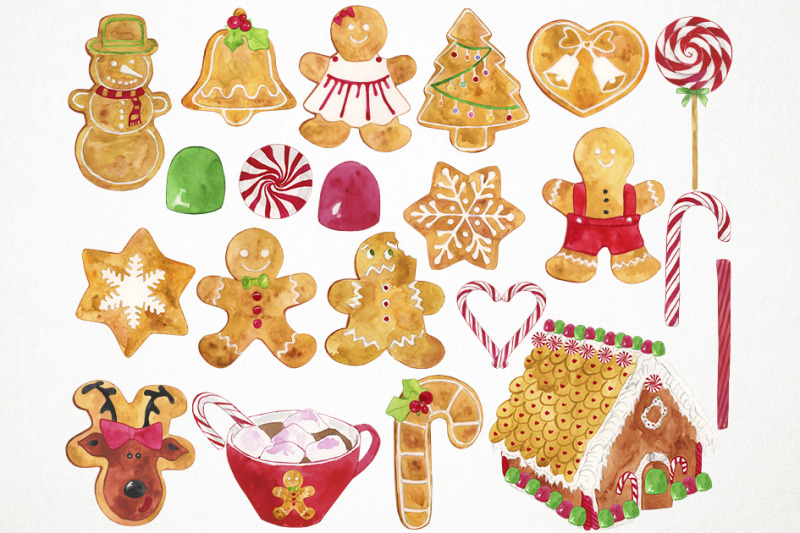 watercolor-gingerbread-cookies-clipart-christmas-cookies-clipart