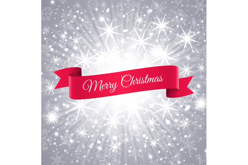merry-christmas-banner-with-snowflakes-background