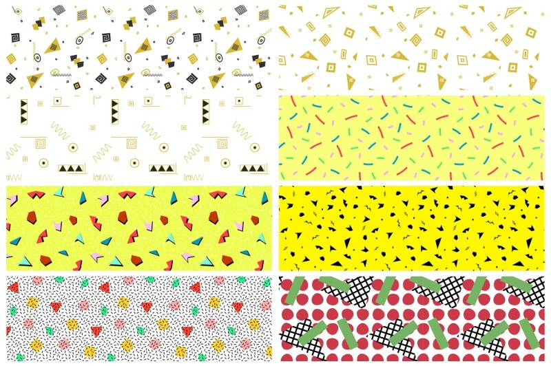 swatches-of-retro-memphis-patterns