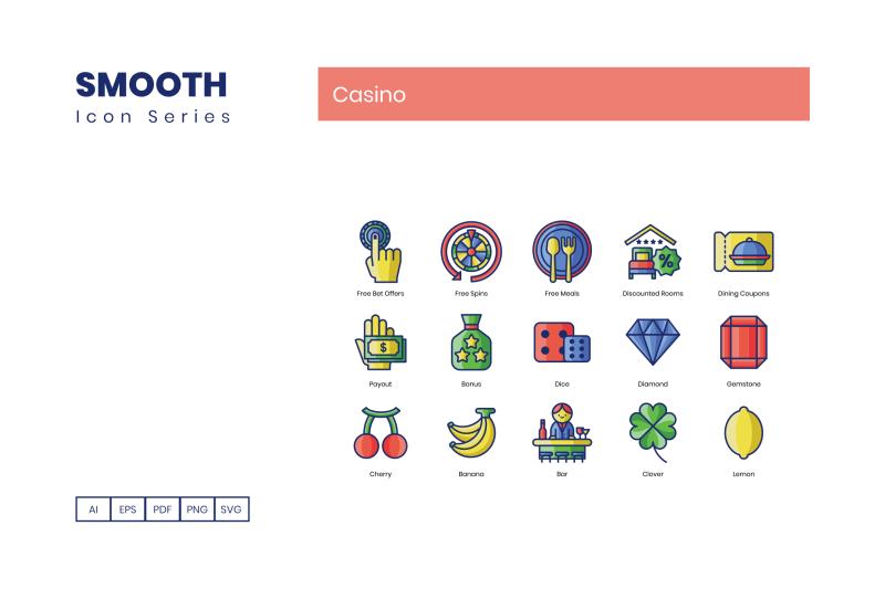 90-gambling-casino-icons