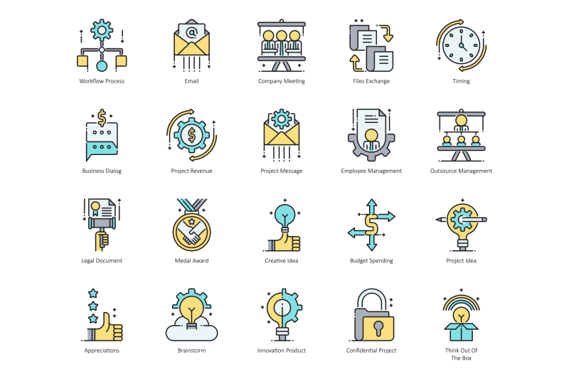 74-project-management-icons
