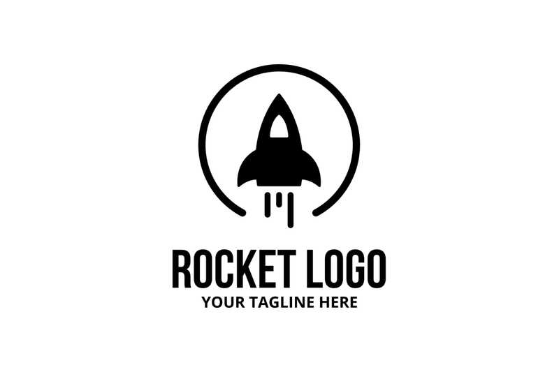 rocket-logo-template