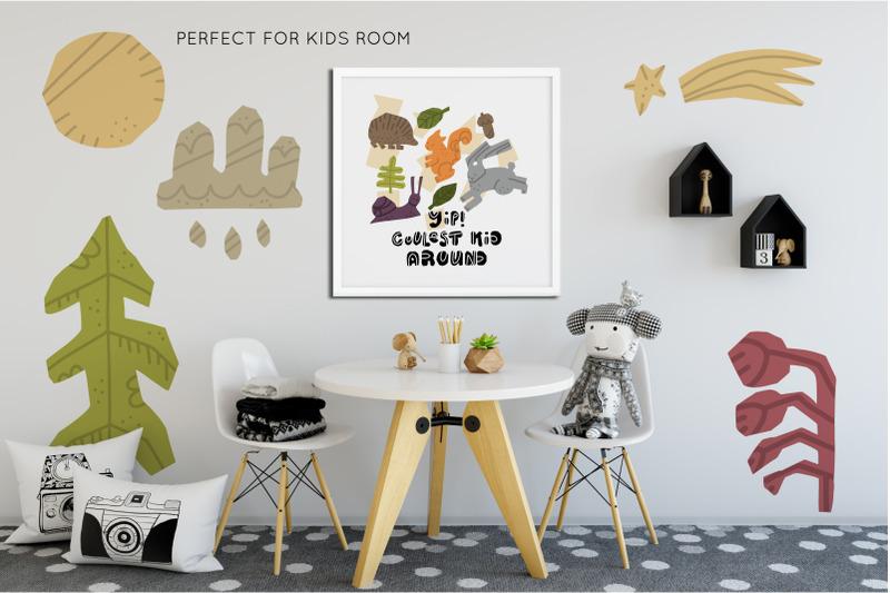 woodland-forest-animals-set