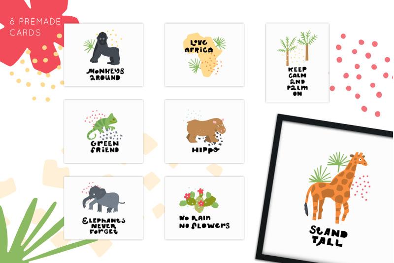 my-africa-animals-clipart
