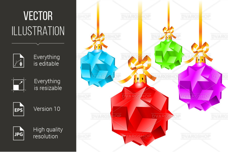abstract-colorful-christmas-decorations