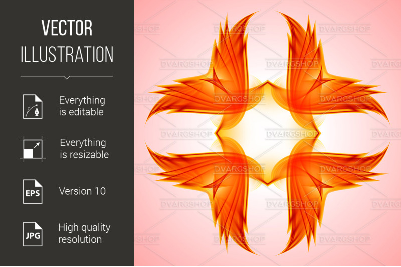 abstraction-red-symbol