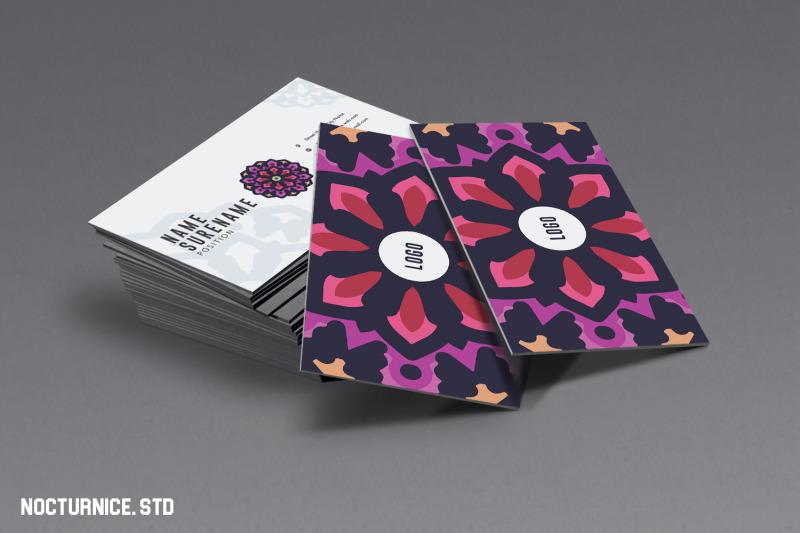 mandala-business-card-template