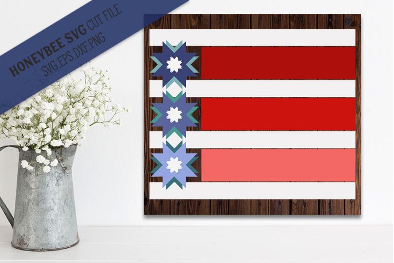 stars-and-stripes-modern-barn-quilt