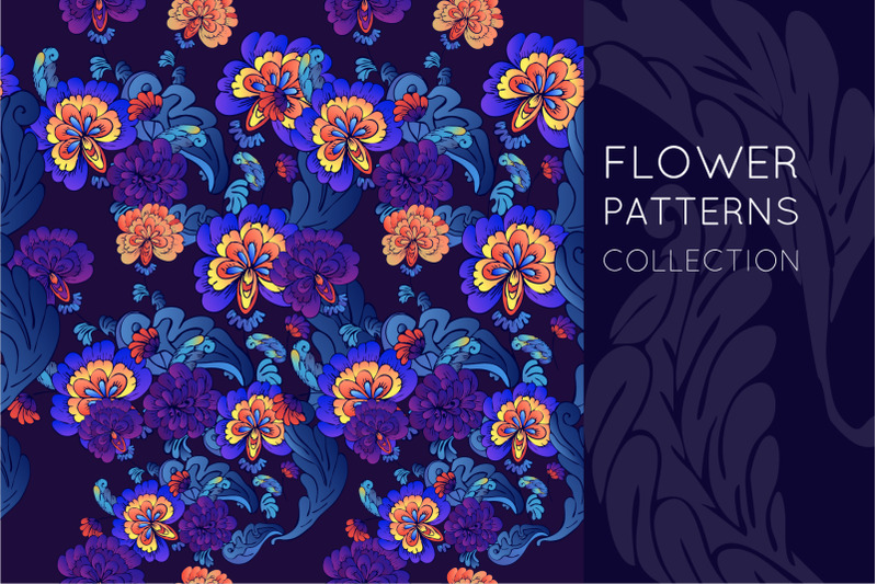 flower-set-patterns-and-elements-nbsp