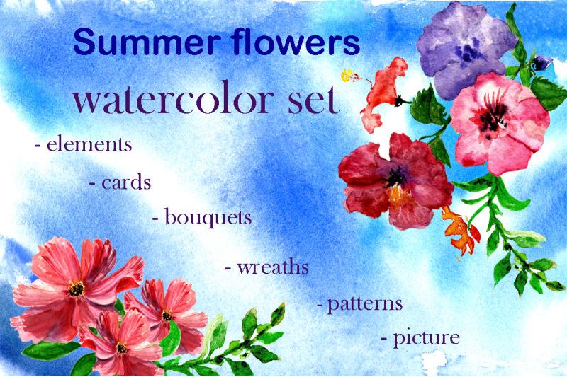 set-summer-flowers