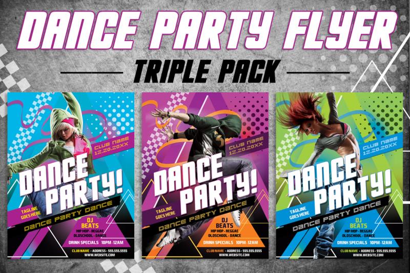 3-dance-party-flyer