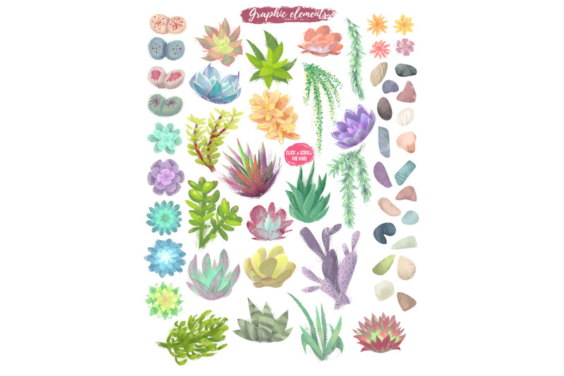 succulent-joy-clipart