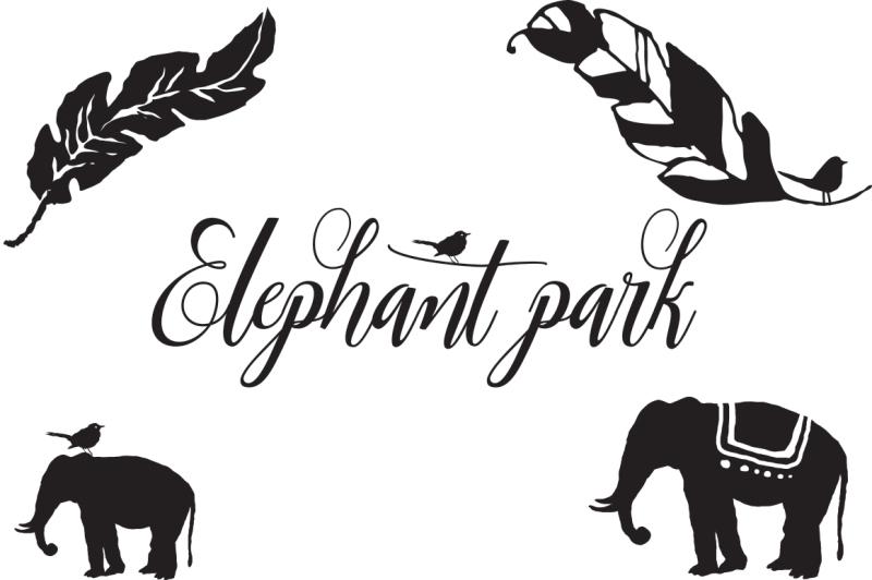 elephant-park-font-duo