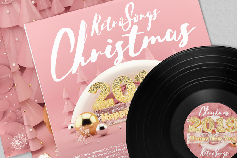 rose-gold-christmas-3d-illustrations