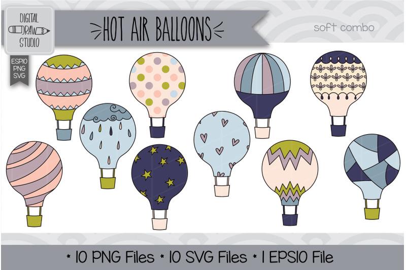 60-hot-air-balloons-doodle-hand-drawn-illustrations-bundle