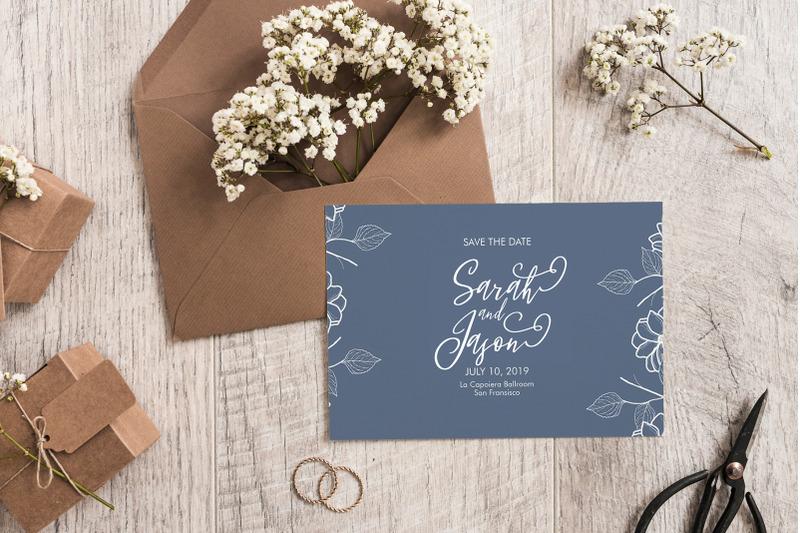 fleur-bleue-romanttic-script-font