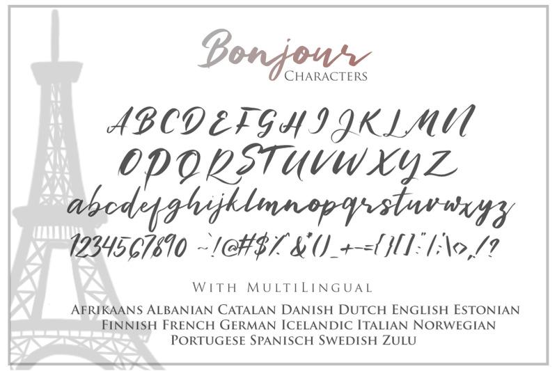 bonjour-casual-handwritten-font