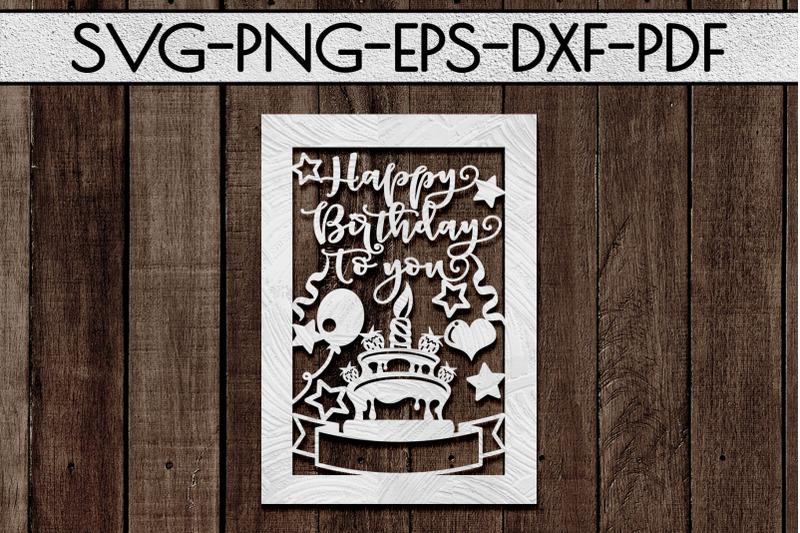 customizable-happy-birthday-papercut-template-card-svg-pdf