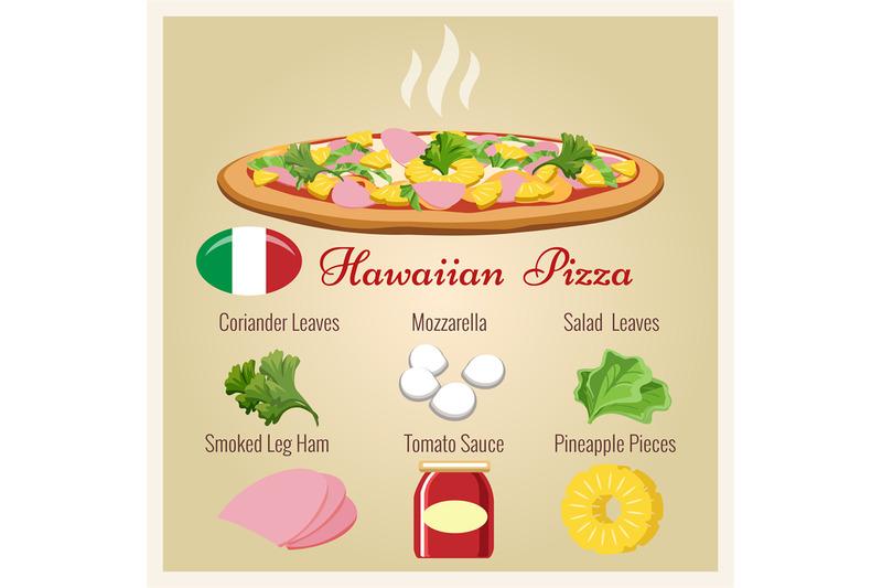 hawaiian-pizza-with-ingredients