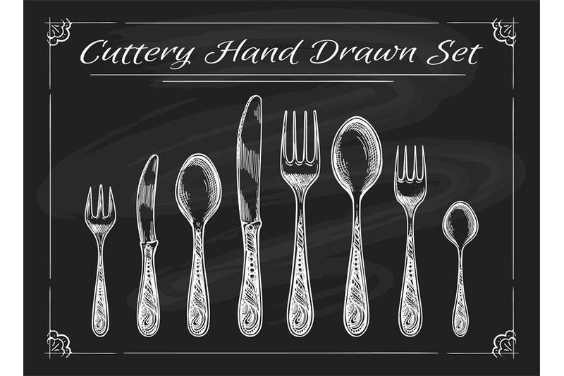 fork-spoon-knife-on-chalkboard