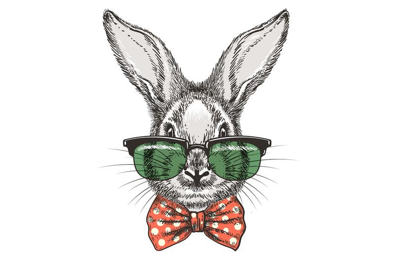 rabbit-in-glasses-sketch-portrait