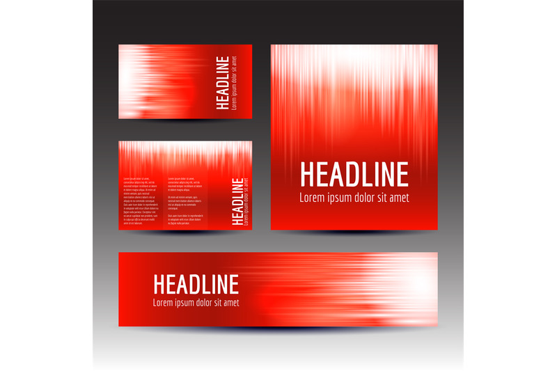 set-of-red-gradient-background-templates