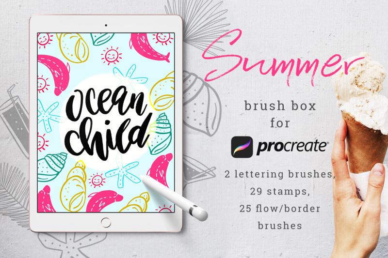 summer-brush-box-for-procreate